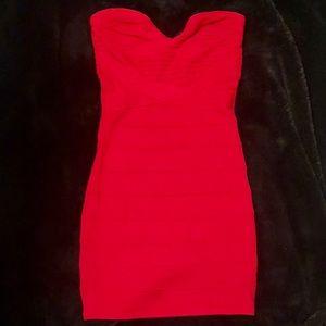 Dresses & Skirts - HERVE INSPIRED RED BANDAGE DRESS